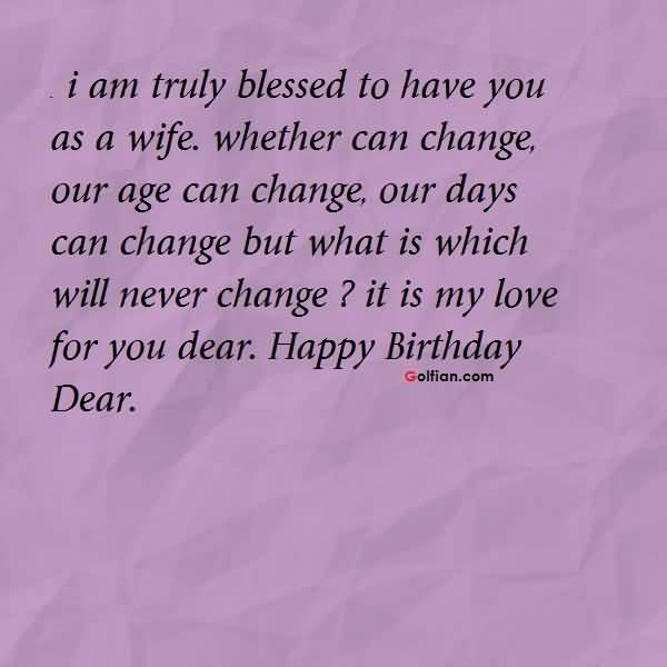 nice birthday message for wife ; Wife-Birthday-Quotes-015