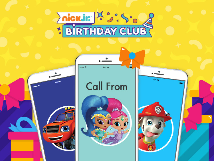 nick jr birthday call sign up ; share-image