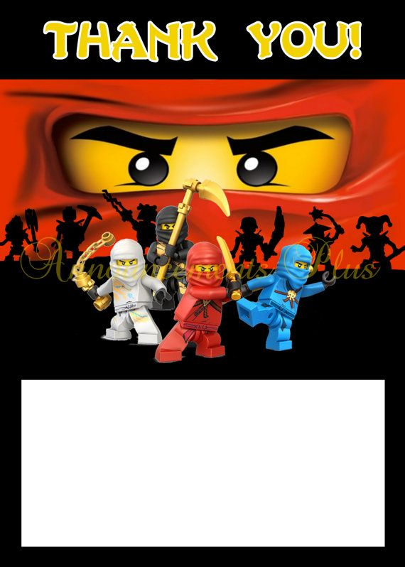 ninjago birthday card ; b58e89036dbd4096a0c46d44e13e782d--note-cards-thank-you-cards