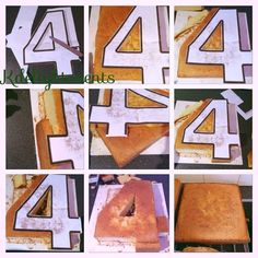 number 4 birthday cake template ; 16f0844a27f0a6b27df672dfadfcddd1--th-birthday-birthday-parties