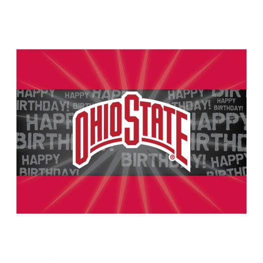 ohio state birthday card ; 96394