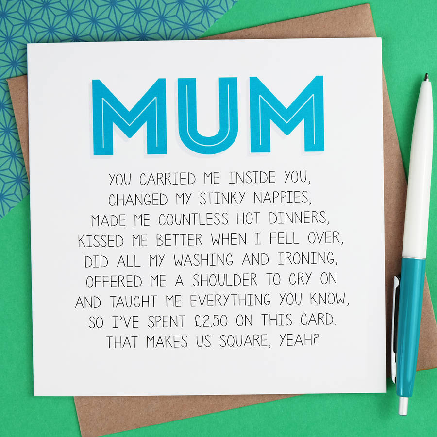 on this day birthday cards ; original_mum-mother-s-day-card