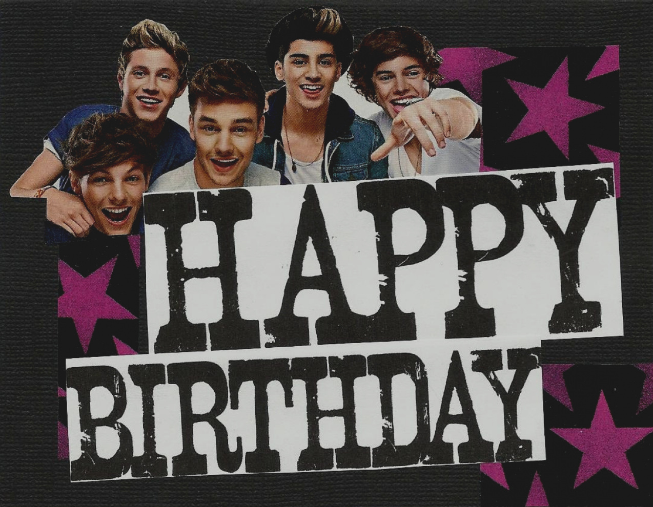 one direction happy birthday ; elegant-of-one-direction-happy-birthday-card-one-direction-happy-birthday-card-etsy-your-place-to-buy-and-sell