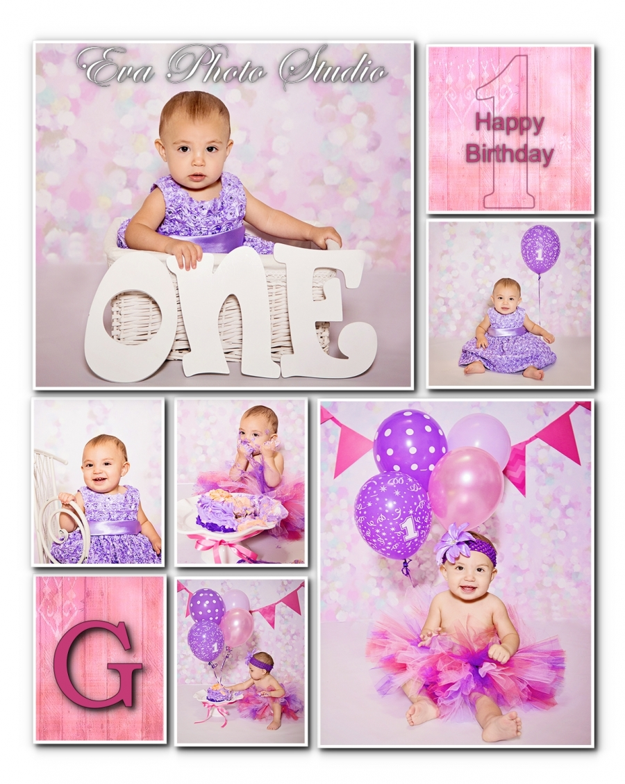one year old birthday photo shoot ; birthaday-collage-8x10-girl(pp_w900_h1128)