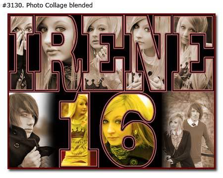 online photo collage for birthday ; Birthday-Collage-Blended_01
