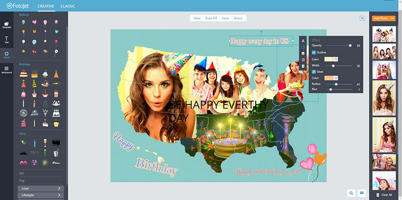 online photo design for birthday ; how-to-make-a-birthday-card