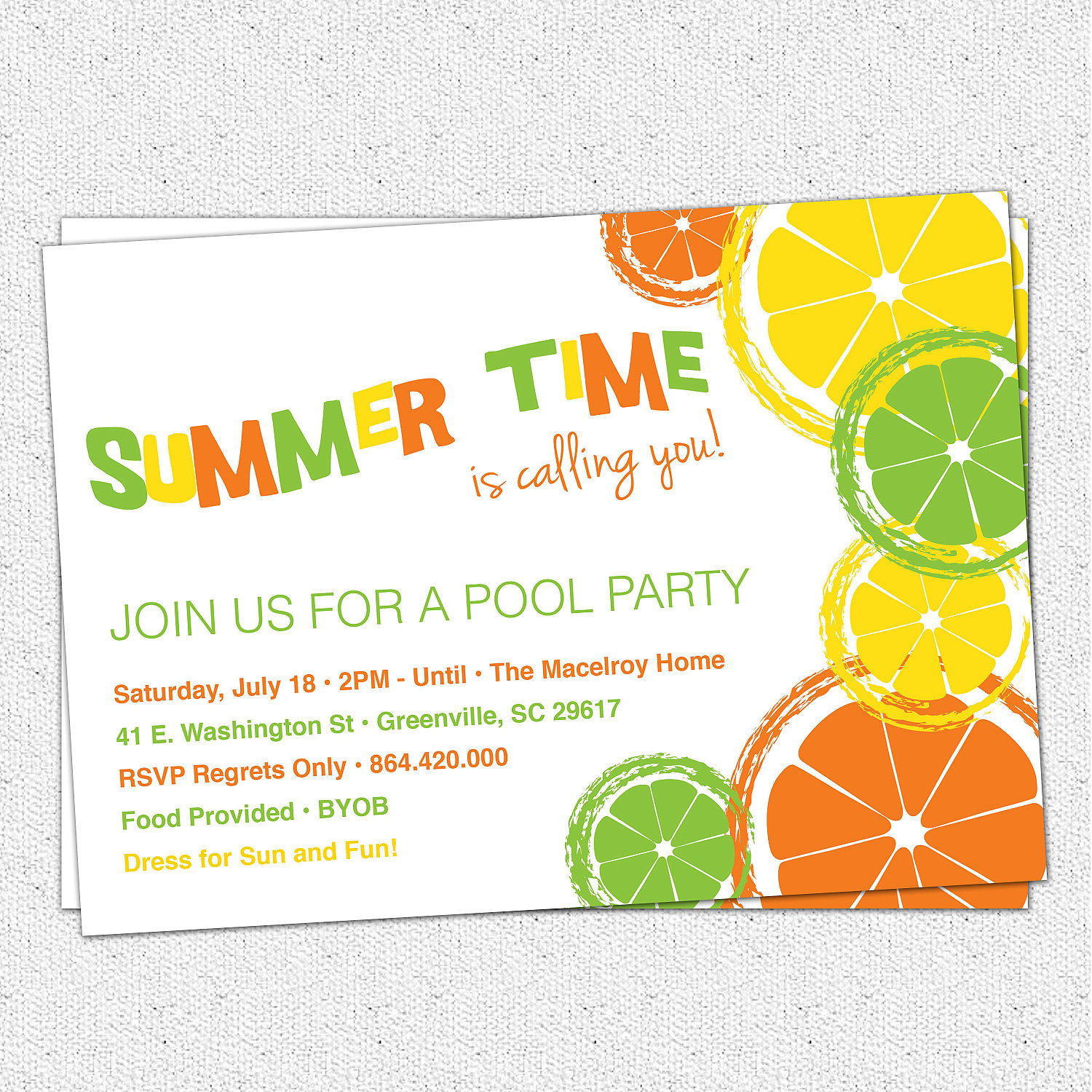 open house birthday party invitation wording ; ideas-of-invitation-wording-for-home-party-about-citrus-invitations-summer-pool-party-lemon-lime-orange-of-invitation-wording-for-home-party