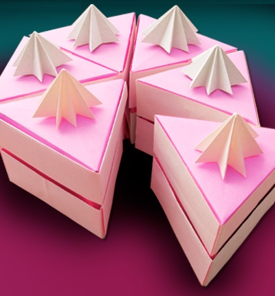 origami birthday card instructions ; origami-birthday-cake-origami-birthday-cake-17-best-origami-images-on-pinterest-origami-download