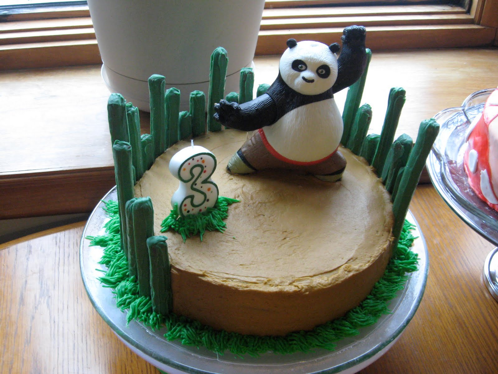 panda birthday cake template ; IMG_1453