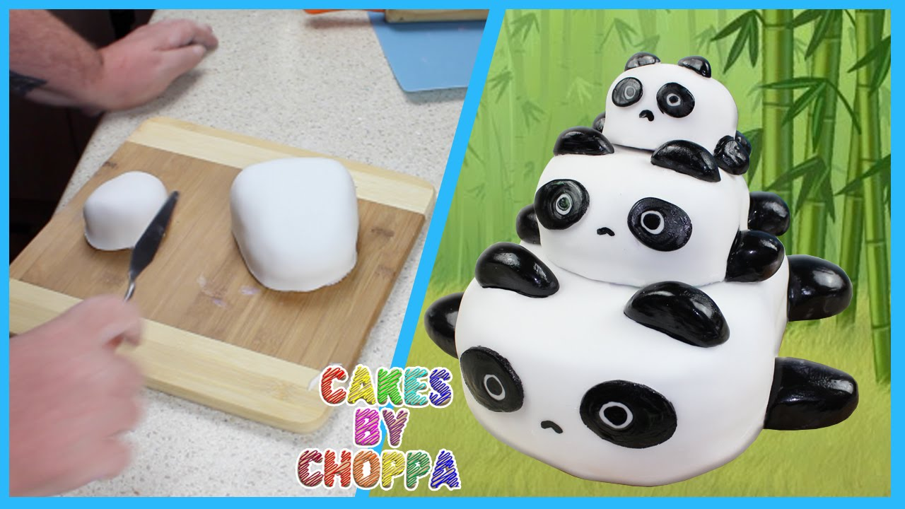 panda birthday cake template ; maxresdefault