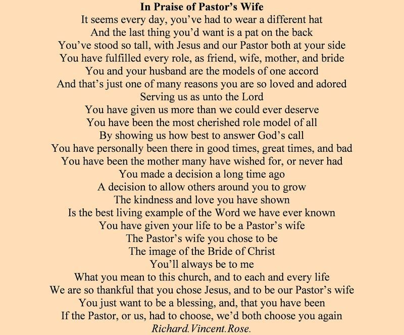 pastor's wife birthday poem ; 10db2d2df864bfe87da071a894eb8225