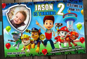 paw patrol birthday design ; paw-patrol-birthday-party-invitations-for-the-best-Birthday-Invitation-you-have-unique-11