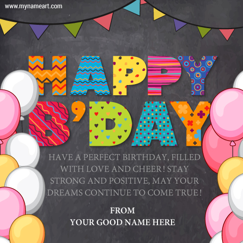 perfect birthday card message ; happy-birthday-colorfull-message-for-children