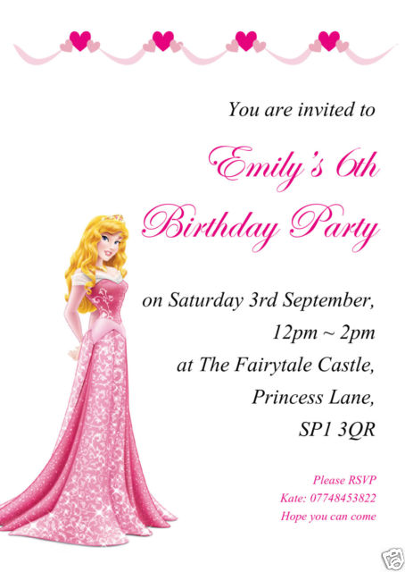 personalised childrens birthday party invitations ; $_58