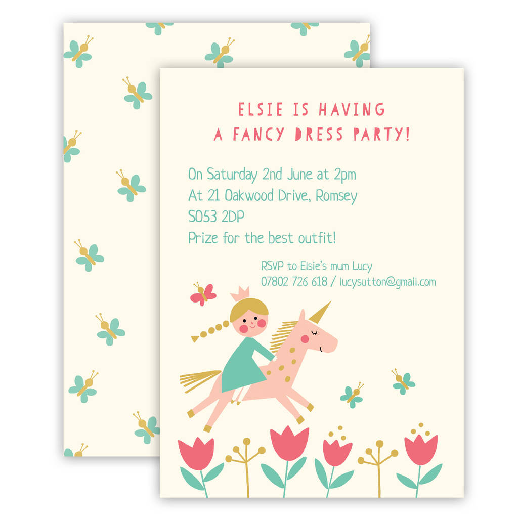 personalised childrens birthday party invitations ; original_personalised-children-s-birthday-party-invitations