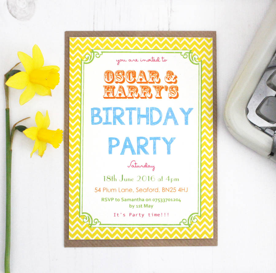 personalised childrens birthday party invitations ; original_personalised-easter-egg-hunt-invitations
