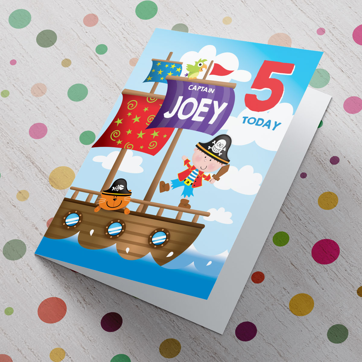 personalised photo birthday cards uk ; personalised-card---birthday-boy-pirate-captain_a