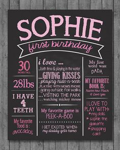 personalized birthday signs ; 5ab0dcbe9e9a59e56b43e8036ea759ce--birthday-subway-art-first-birthday-chalkboard