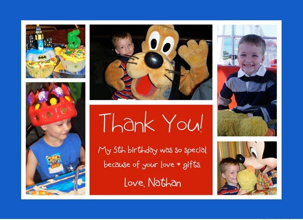 photo collage birthday card ; blue-red-collage-birthday-thank-you-front_0