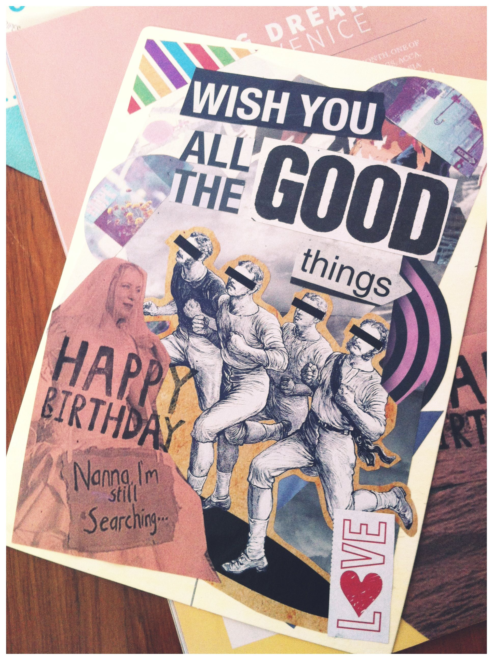 photo collage birthday card ; c07c1e014d851af81660dad590a06bbb