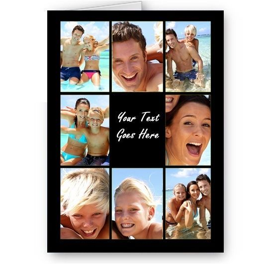 photo collage birthday card ; personalised-photos-message-collage-all-occasion-a5-card-birthday-more-4822-p