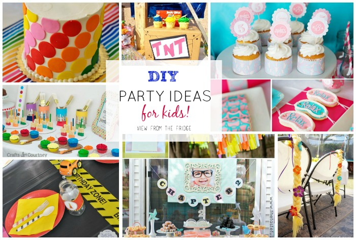 photo idea for birthday ; diy-kids-birthday-ideas-feature