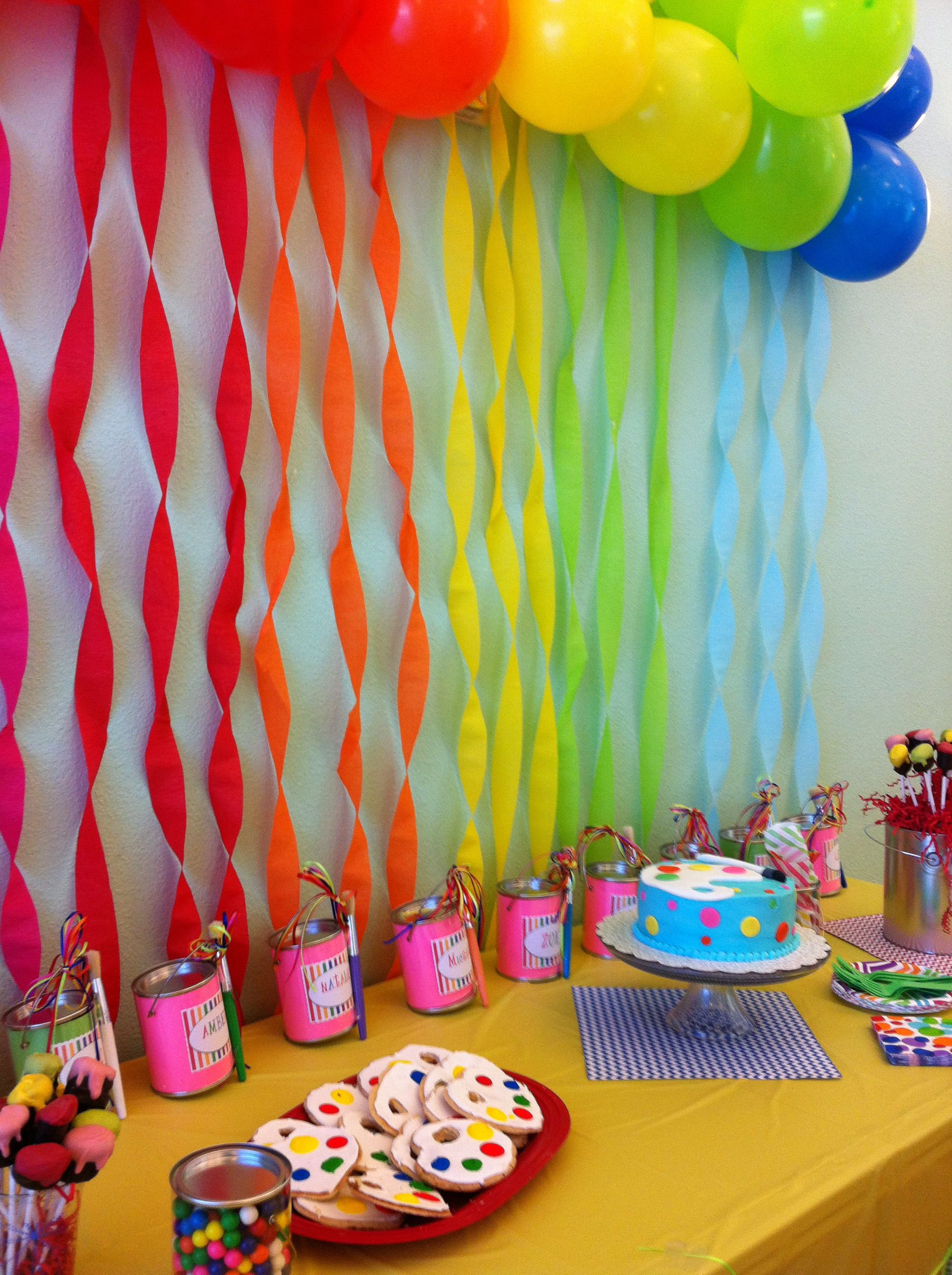 photo idea for birthday ; spectacular-idea-birthday-party-game-ideas-for-7-year-old-boy-most-at-home-8-girl-art