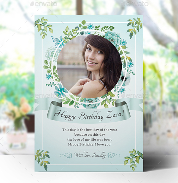 photoshop birthday card template free ; Printable-Birthday-Greeting-Card-For-Women