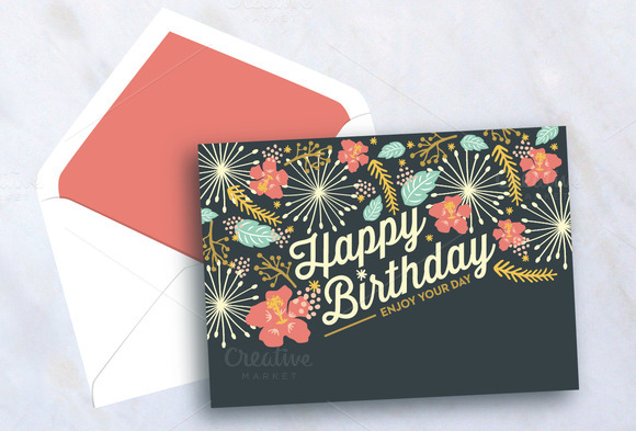 photoshop birthday card tutorial ; Happy-Birthday-Card