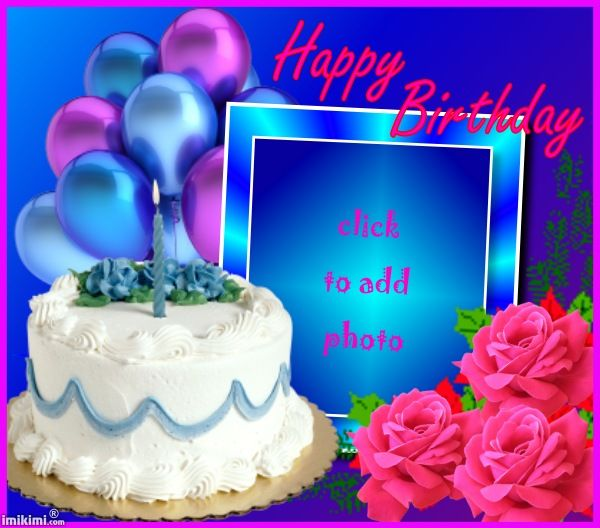 picture frame birthday cake ; 2b835088eb147bfe84f6a8b4d0ce152a