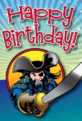 pirate birthday card printable ; Pirate_with_Sword_Birthday_Card