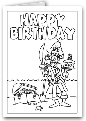 pirate birthday card printable ; pirate-happy-birthday