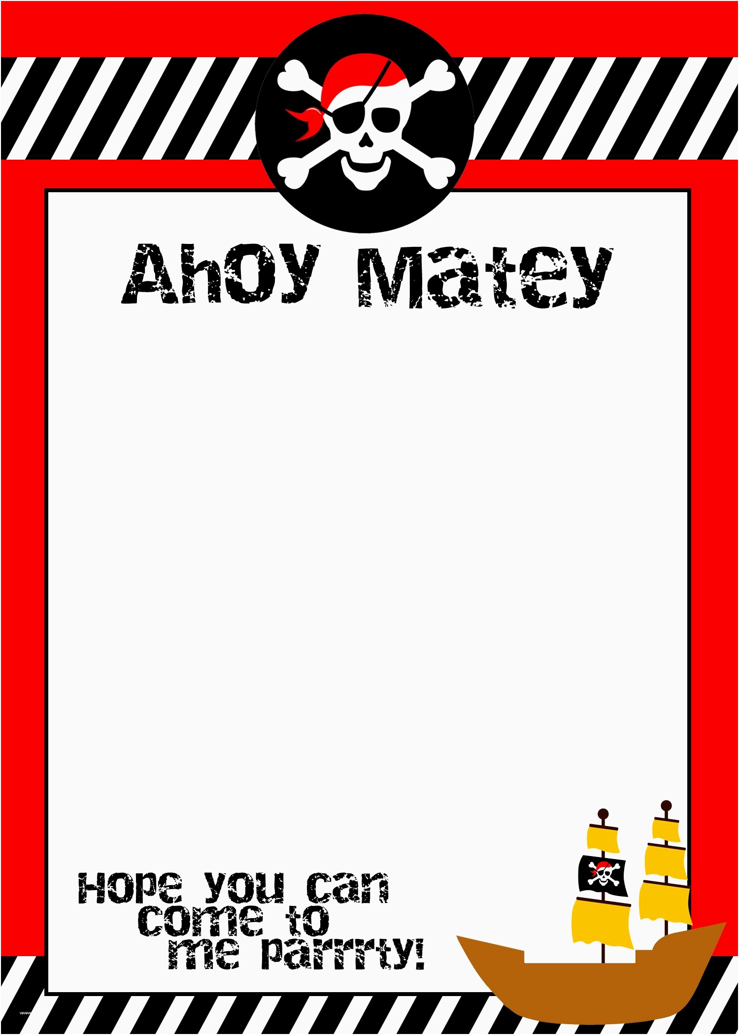 pirate birthday card printable ; printable-birthday-cards-funny-elegant-pirate-themed-birthday-party-with-free-printables-of-printable-birthday-cards-funny