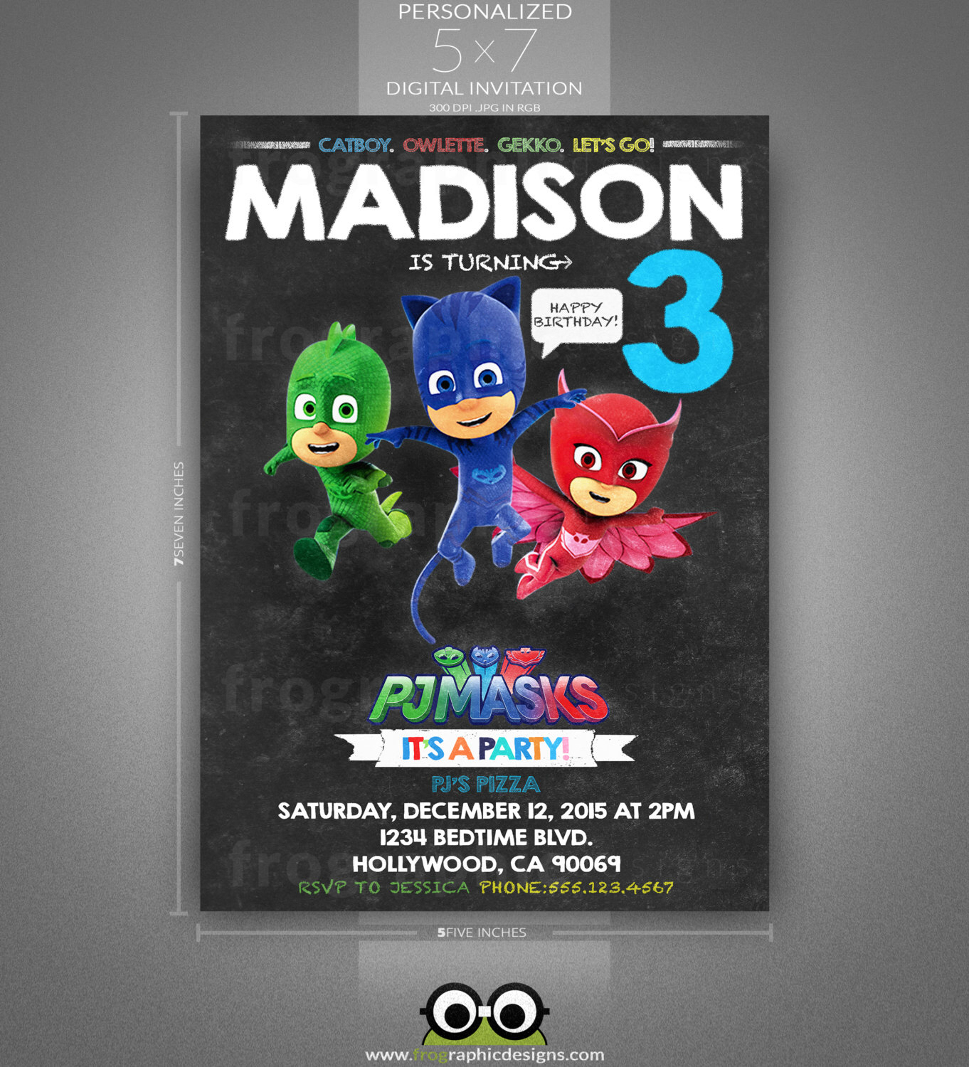 pj masks birthday card template ; transformers-birthday-party-invitations-template-pj-masks-birthday-invitation-and-thank-you-card-chalkboard-by