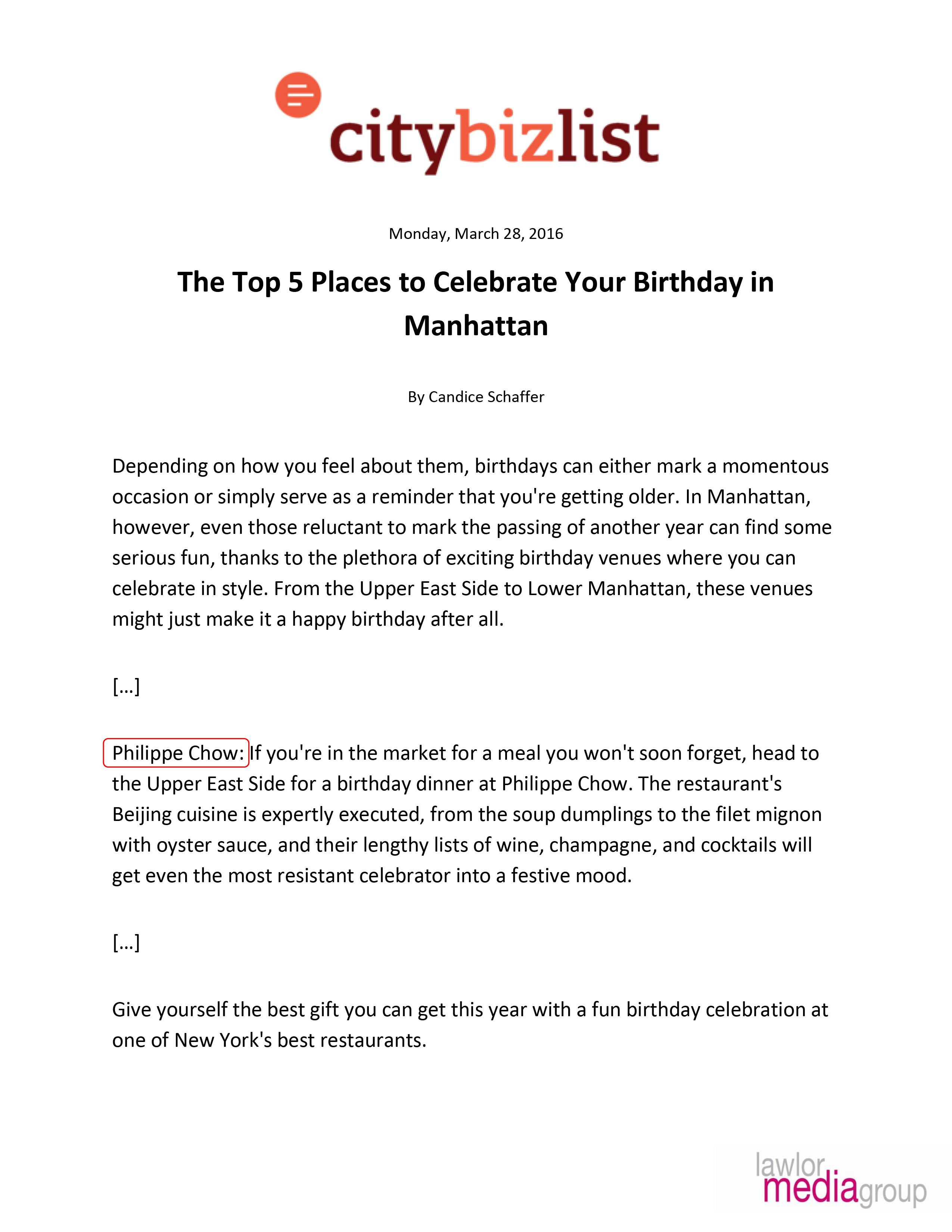 places to sign up for your birthday ; citybizlist-the-top-5-places-to-celebrate-your-birthday-in-manhattan