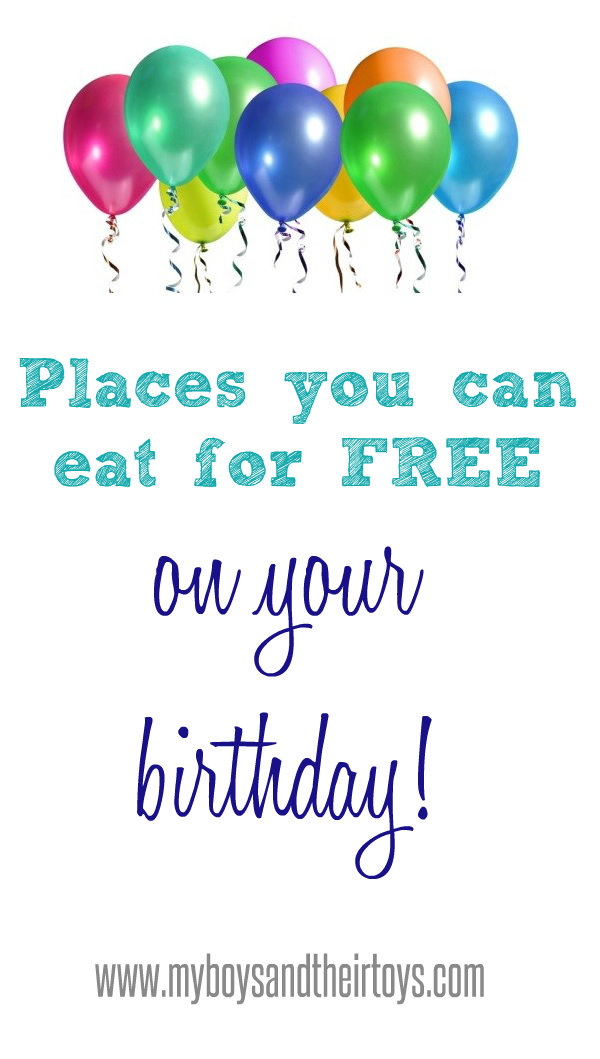 places to sign up for your birthday ; free-birthday-meals