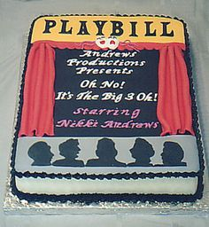 playbill birthday card ; 2f4cb94b06b1261fa47d044d94e2c6a3