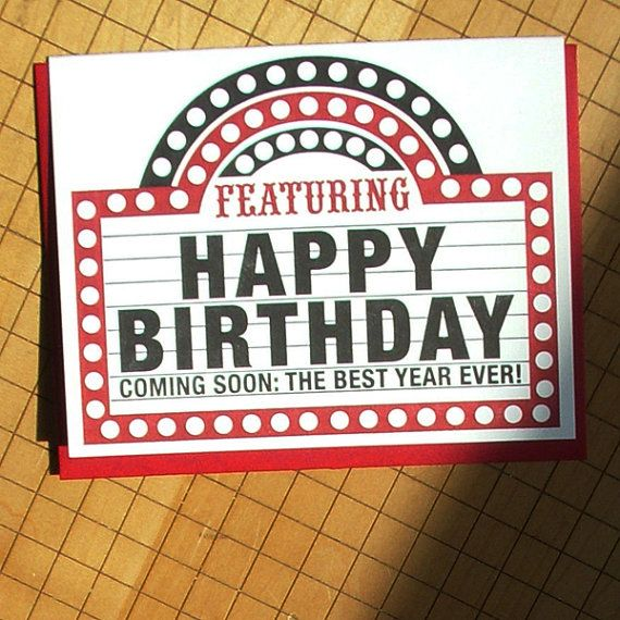 playbill birthday card ; 6c2d94d4a4f45ff2c115d60dcaf66840--marquee-sign-birthday-cards