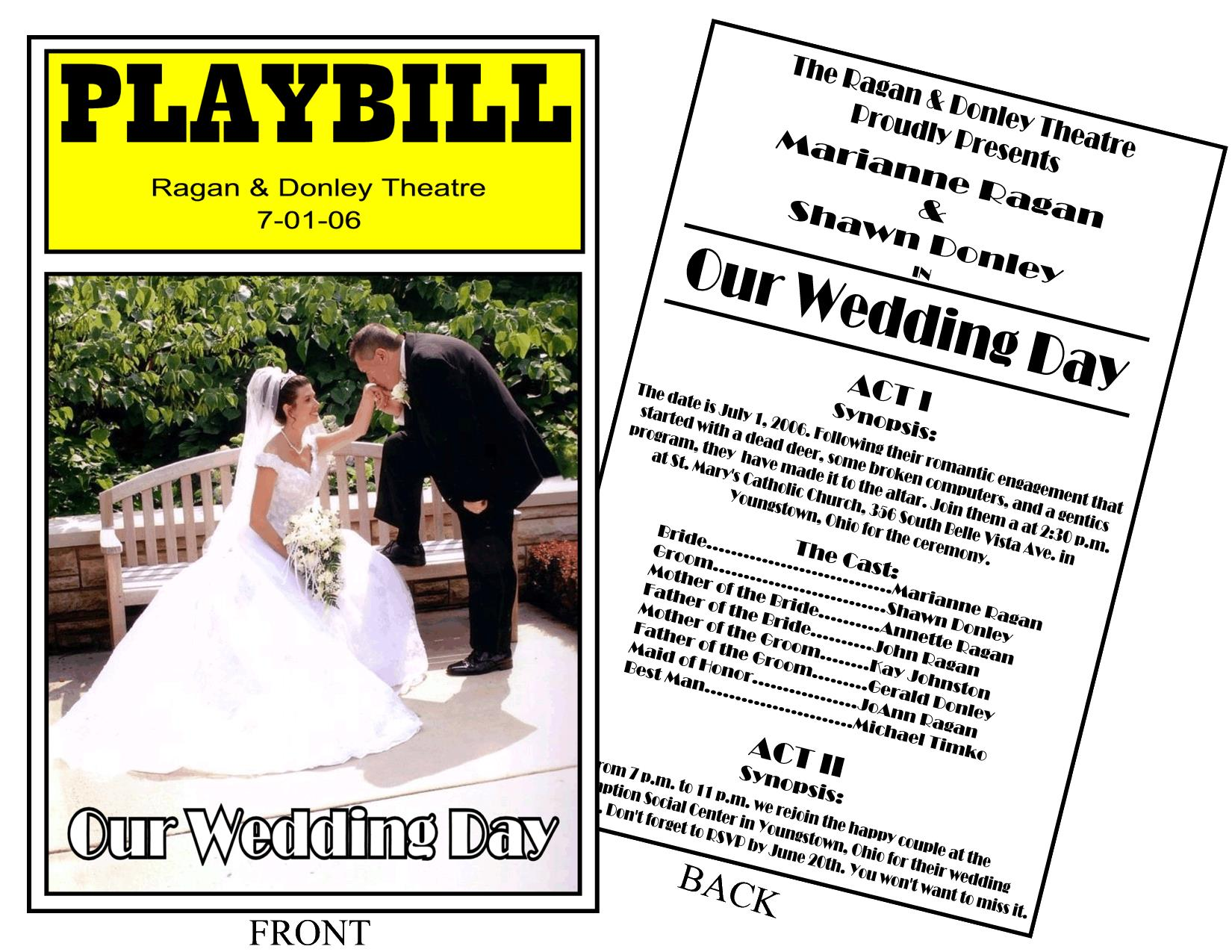 playbill birthday card ; playbill-birthday-invitation-playbillussamplelg