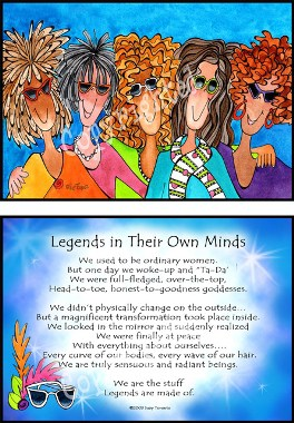 poem for 50th birthday woman ; legends