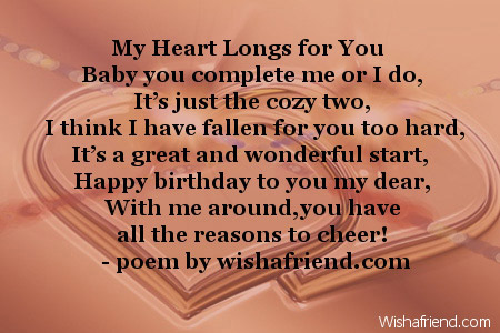 poem for a beautiful girl on her birthday ; 2614-girlfriend-birthday-poems