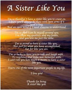poem for a birthday sister ; s-l300