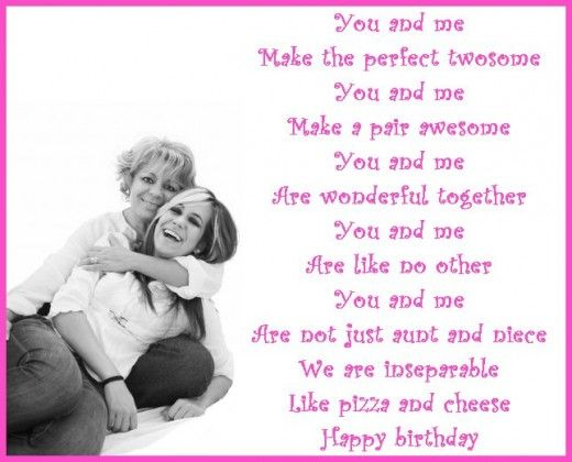 poem for a niece on her birthday ; 94f3ea541069bc61d824fe74c34c3010