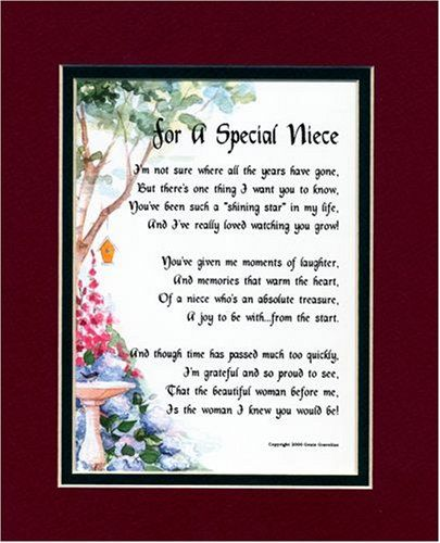 poem for a niece on her birthday ; a3151e871a76ebe051ae2f1249744afe