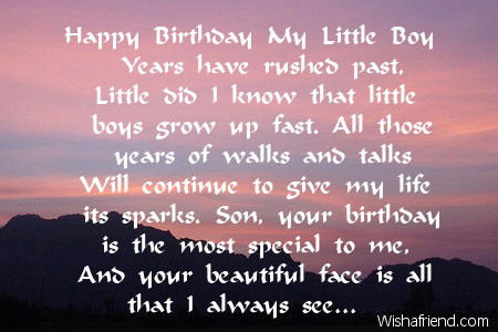 poem for my son on his 5th birthday ; 2457-son-birthday-poems