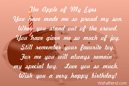 poem for my son on his 5th birthday ; 2625-son-birthday-poems