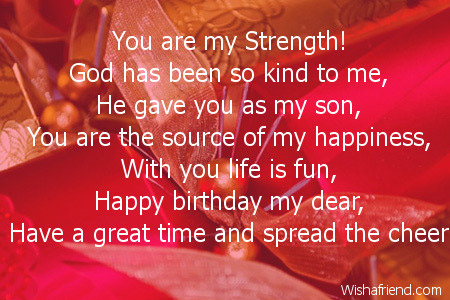 poem for my son on his 5th birthday ; 2629-son-birthday-poems