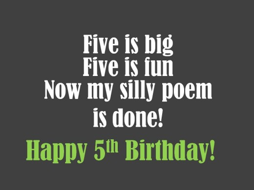 poem for my son on his 5th birthday ; 8777156_f520