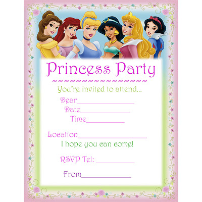 princess birthday invitation card template ; awesome-disney-princess-for-girl-birthday-invitations-ideas-free-princess-birthday-party-invitations-template