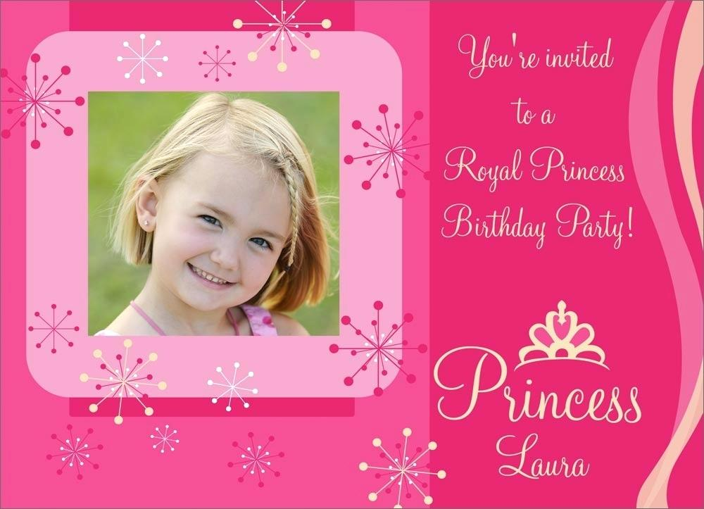 princess birthday invitation card template ; design-birthday-invitation-cards-online-free-birthday-invitation-card-designs-pink-princess-birthday-free
